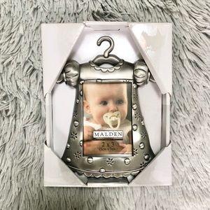 New Malden Silver 2x3 Baby Girl Frame Shower Gift
